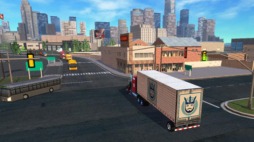 Truck simulation 19 screenshot 3