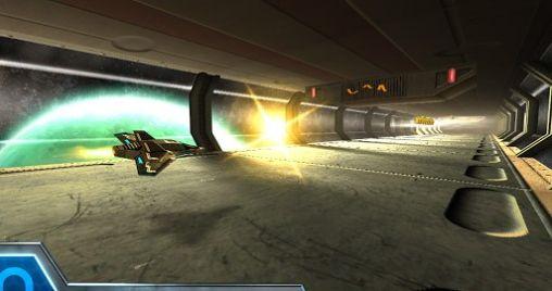 Arcade Razor Run: 3D space shooter für das Smartphone