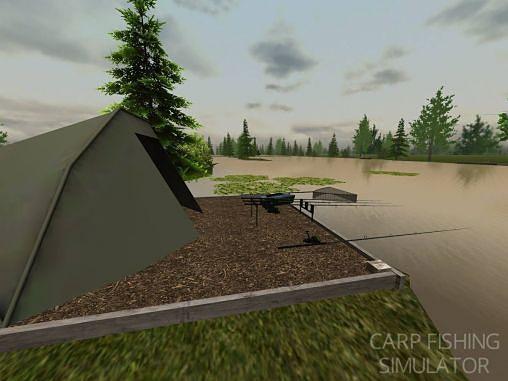 Simulator-Spiele: Lade Karpfenfischen Simulator auf dein Handy herunter