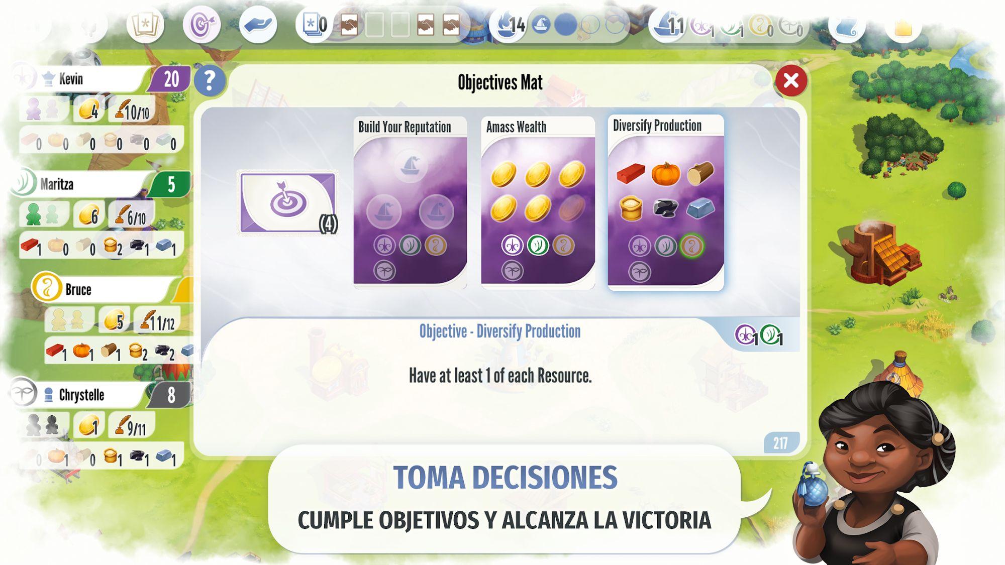Charterstone: Digital Edition captura de pantalla 1