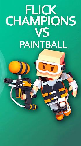 Flick champions VS: Paintball Screenshot