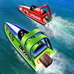 Speed boat racing: Racing games icon