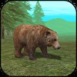 Wild bear simulator 3D icône