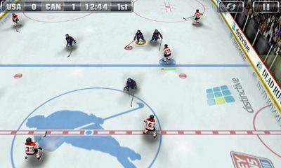 Sportspiele Hockey Nations 2010 für das Smartphone