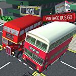 Vintage bus go Symbol