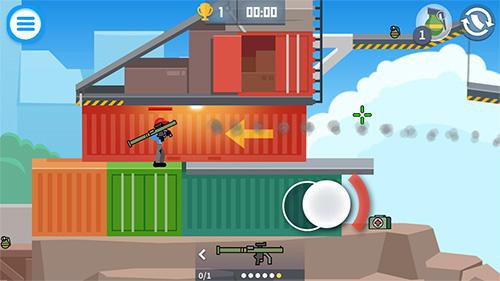 Stickman combats für Android