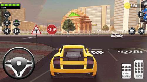 Driving academy: India 3D captura de pantalla 1