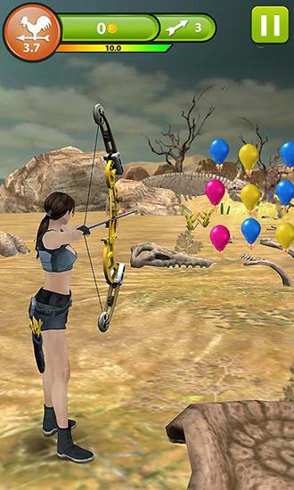 Schießstand-Spiele Archery master 3D auf Deutsch