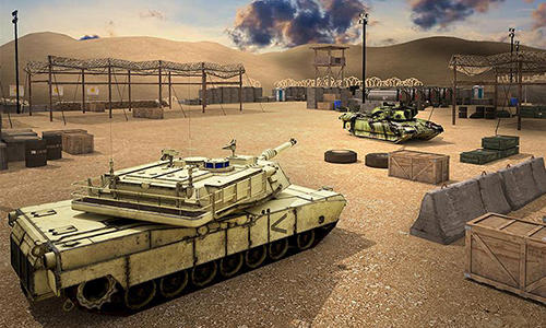 Tank future battle simulator for Android