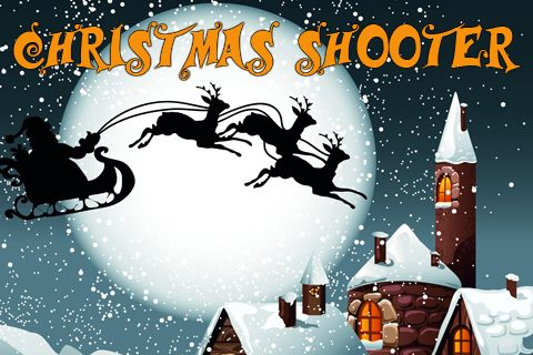 标志Christmas shooter