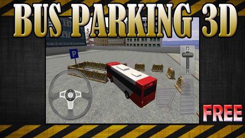 логотип Парковка автобуса 3Д
