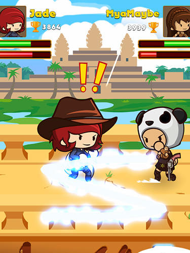 Arcade Swipe fighter heroes: Fun multiplayer fights für das Smartphone