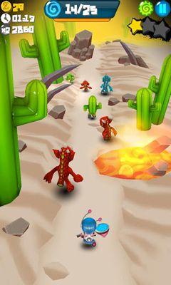 Screenshot Hophop - Fang die Aliens auf dem iPhone