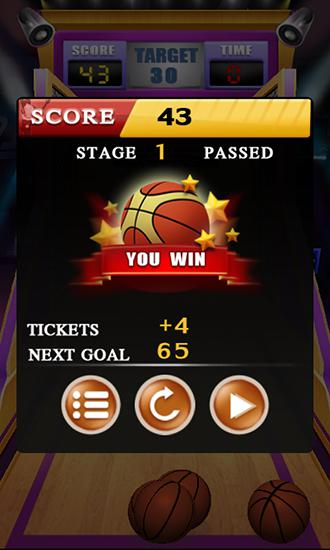 Basketball: Shoot game Screenshot