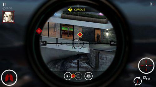 Screenshot Sniper X auf dem iPhone