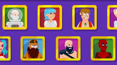 Arcade Ragdoll warriors: Crazy fighting game für das Smartphone