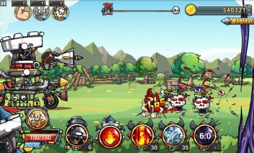 Cartoon defense 4 Screenshot