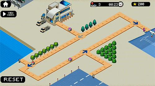Strategiespiele Pixel cargo für das Smartphone