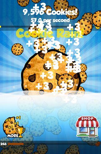 Arcade-Spiele Cookie clickers für das Smartphone