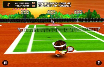 アイフォン用 早く早く!テニス