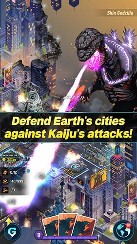 Онлайн игры: скачать Godzilla defense force на телефон