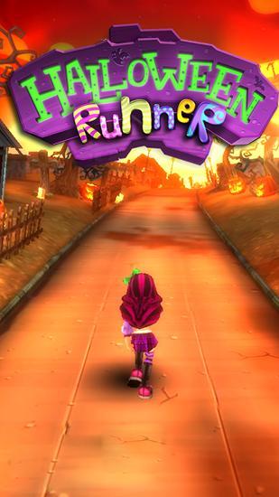 Halloween runner icono