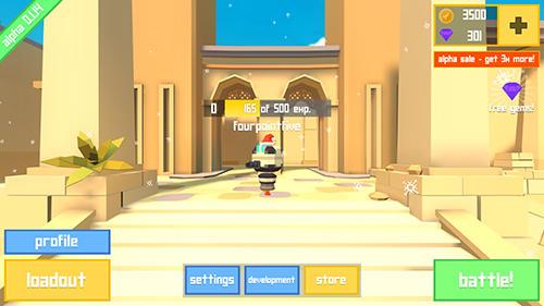 Rocket shock 3D: Alpha für Android