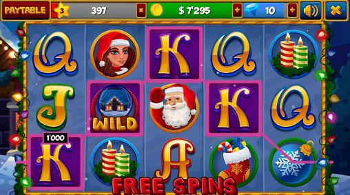 Christmas slots machines screenshot 1
