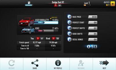 Rennspiele CSR Racing für das Smartphone