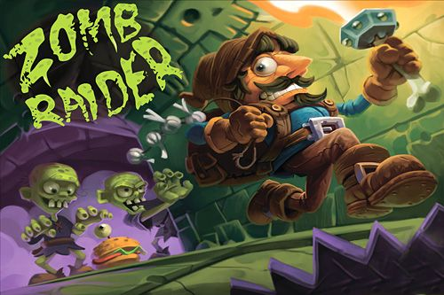 Screenshot Zombie Raider auf dem iPhone
