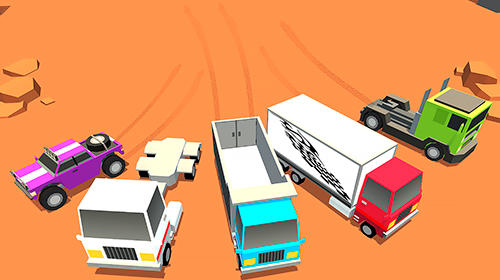 Course Drifting trucks: Rally racing pour smartphone