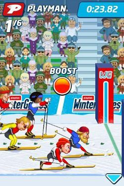 Playman: Winter Games screenshot 2