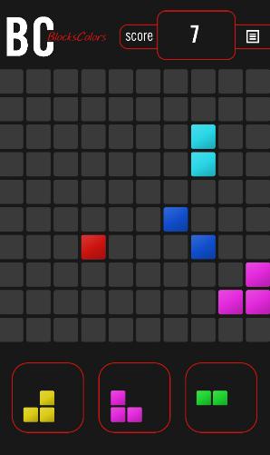 Logik Blocks colors für das Smartphone