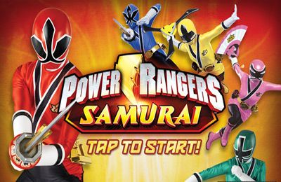 Screenshot Power Rangers Samurai auf dem iPhone