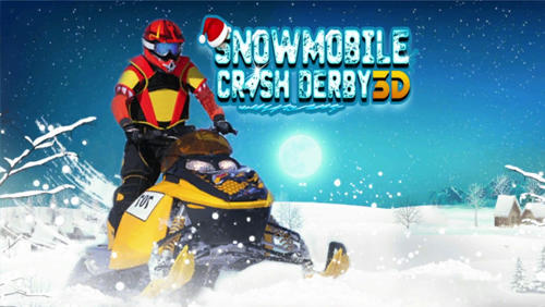 Snowmobile crash derby 3D Screenshot