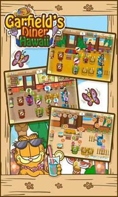 Arcade Garfield's Diner Hawaii für das Smartphone
