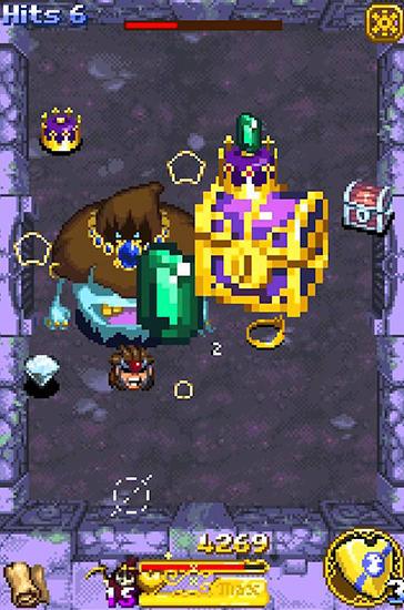Arcade Treasure buster für das Smartphone
