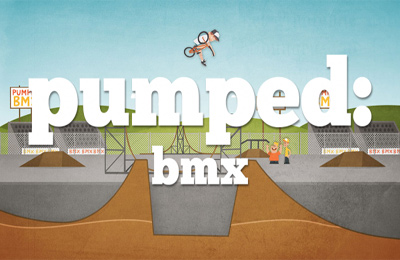 Screenshot Aufgepumpt: BMX auf dem iPhone