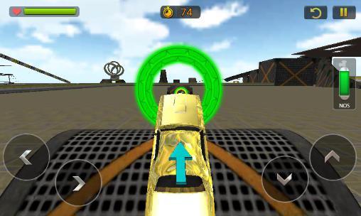 Car stunt race driver 3D Screenshot