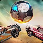Rocket car ball icono
