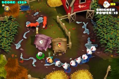 Скриншот Куриный переворот на Айфон