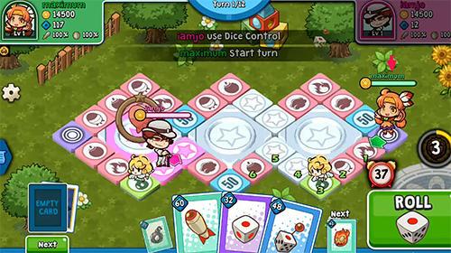 Brettspiele Fortune fight für das Smartphone
