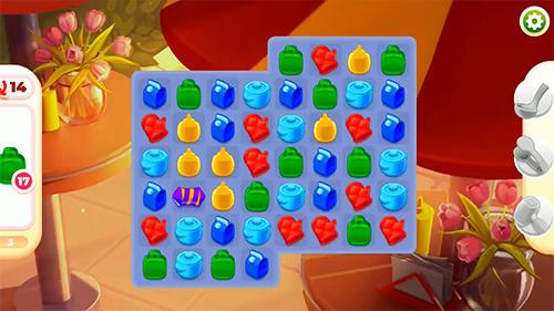 Cooking paradise: Puzzle match-3 game captura de pantalla 1