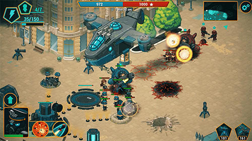 War alert: Red lords. Online RTS pour Android