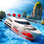 Cruise ship driving racer Symbol