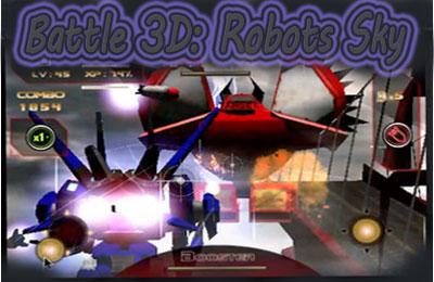logo Battle 3D: Robots Sky