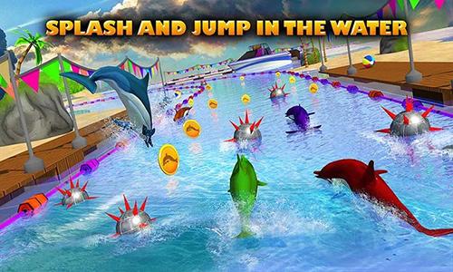 Dolphin racing 3D auf Deutsch