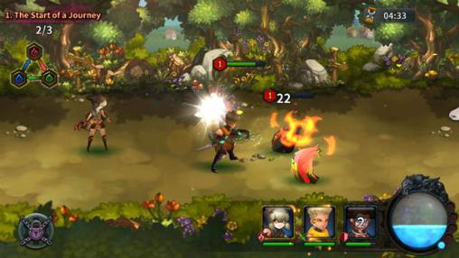 RPG Light: Fellowship of Loux für das Smartphone
