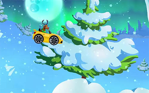 Winter wonderland: Snow racing скриншот 1