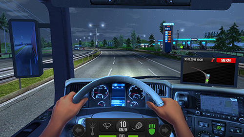 Fahrsimulatoren Truck simulator 2018: Europe auf Deutsch
